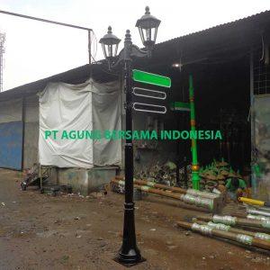 Supplier Tiang Papan Nama