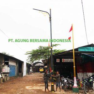 Tiang PJU Oktagonal