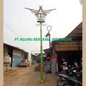 Tiang Lampu PJU Dekoratif Murah