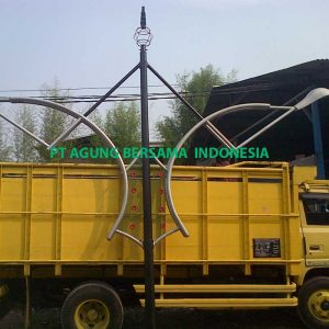 Supplier Tiang Lampu PJU