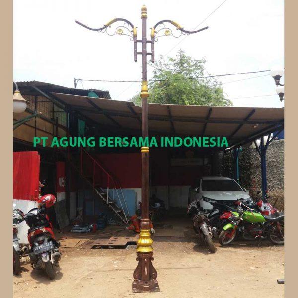 Jual Tiang Lampu PJU Bambu