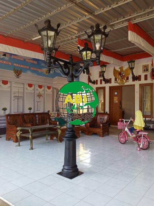 Contoh Model Tiang Lampu Dekoratif