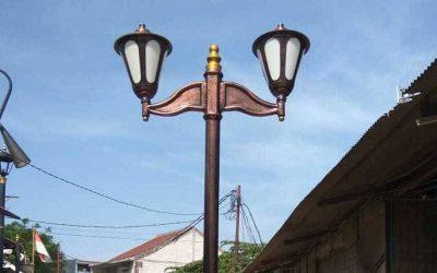 Tiang Lampu Jalan Murah