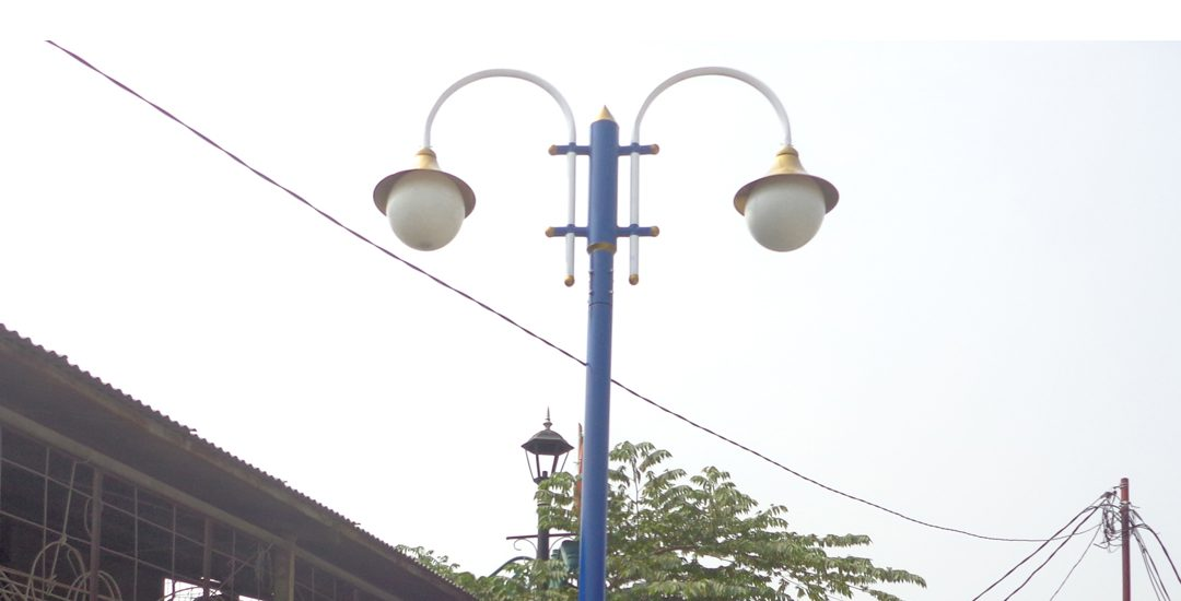 Penjualan Tiang Lampu Taman