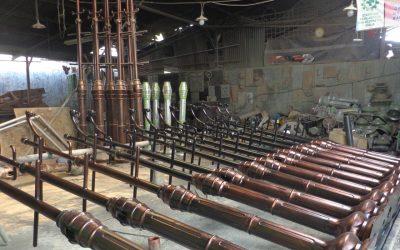 Proses Produksi Lampu Taman