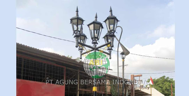 Spesialis Tiang Lampu Solar Cell