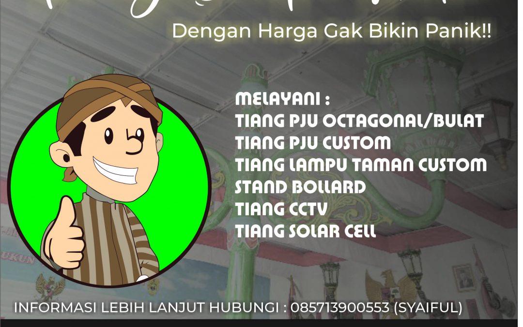 Jual Tiang Lampu Jalan Jakarta