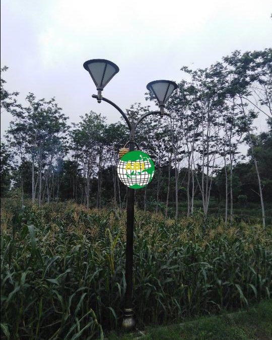 Pilihan Lampu Outdoor Hias